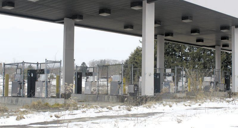 Former truck stop comes with liabilities and potential