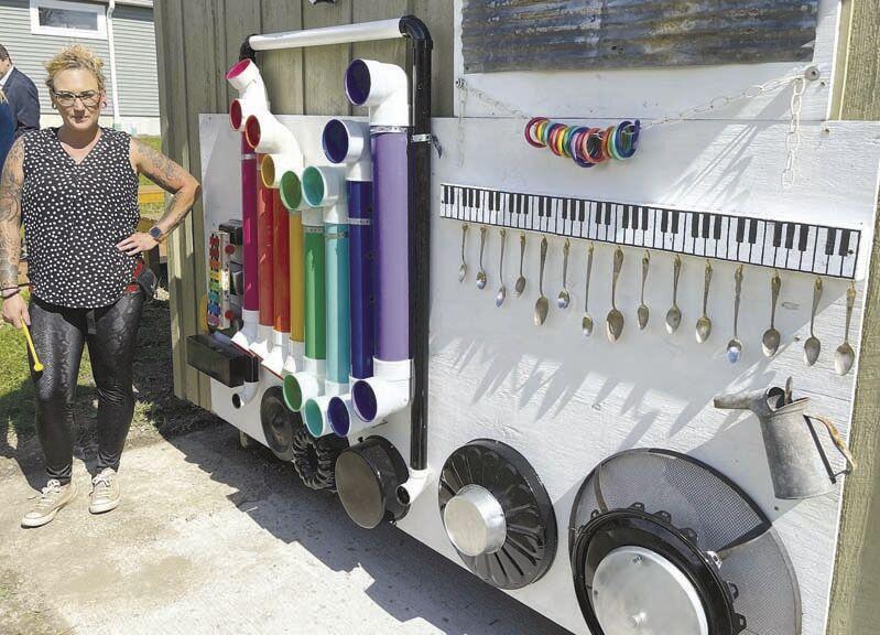 Marienville Community Garden showcases combined effort
