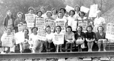 Labor strike hits Allison Engineering Co.