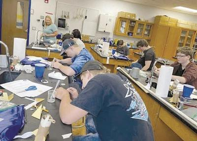 Forest students attend STEM space camp