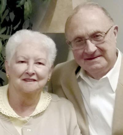 Glossers celebrate 60th wedding anniversary