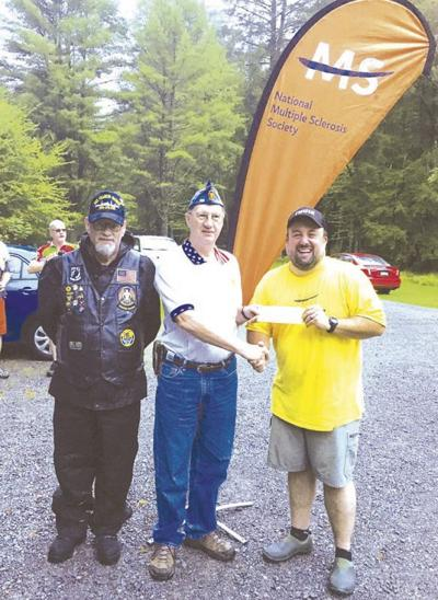 American Legion groups donate to MS fight