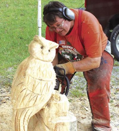 Chainsaw carving weekend returns to Sawmill Center