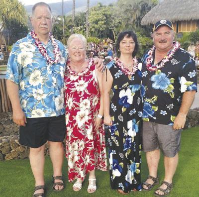Murrays and Holabaughs celebrate wedding anniversaries