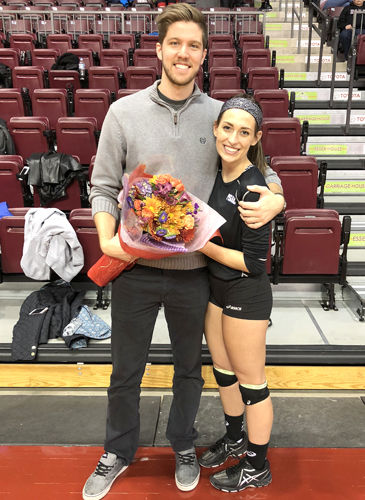 Clarion Area alum Ellie Burns living a volleyball life