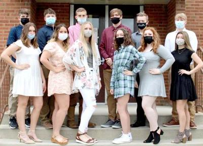 North Clarion prom court