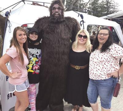 Bigfoot and the bachelorette