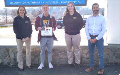 Buzard earns CHAMP award for October