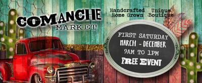 First Saturday Comanche Market