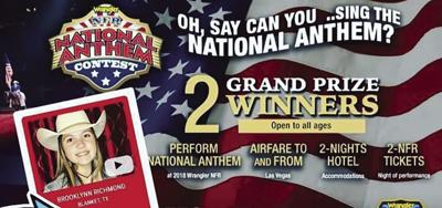 Wrangler National Finals Rodeo Anthem Contest Features