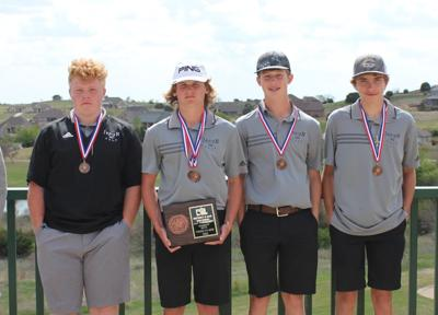 CHS Golf third place in district