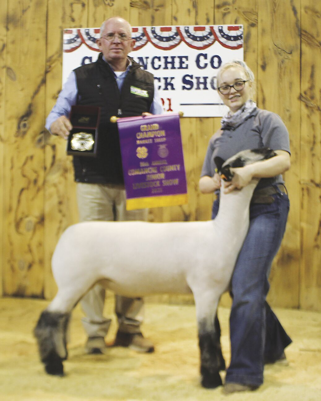 McGinnis Grand champion sheep.tif