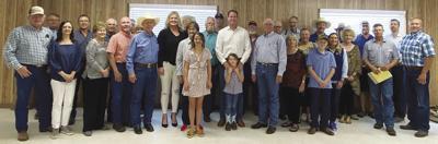 U.S. Congressman pfluger visits comanche: Texas Farm Bureau host U.S. Congressman August Pfluger in Comanche