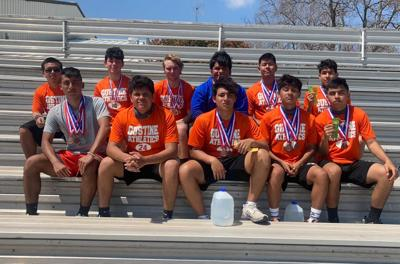 Gustine Tigers District Track Results -- on to Area!