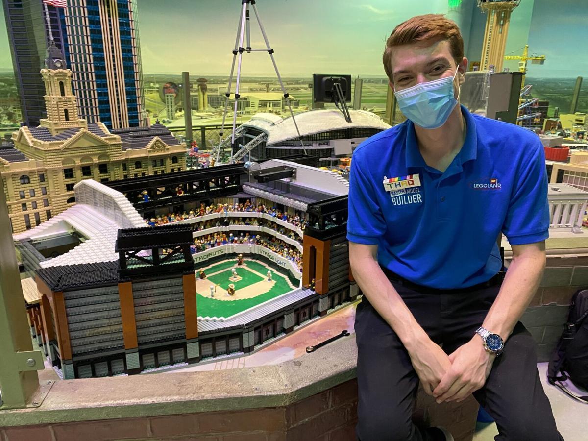 LEGOLAND Discovery Center Dallas Fort Worth - Baseball Stadium Install - Thaddeus Bennett, Master Model Builder (2).JPG