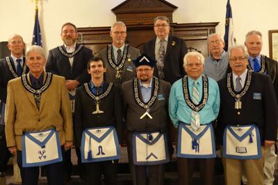 New Castle 91 Masonic Lodge Installations