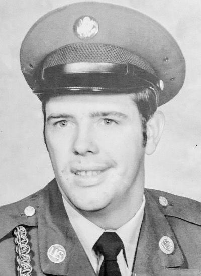 Gary Lee Guffey military