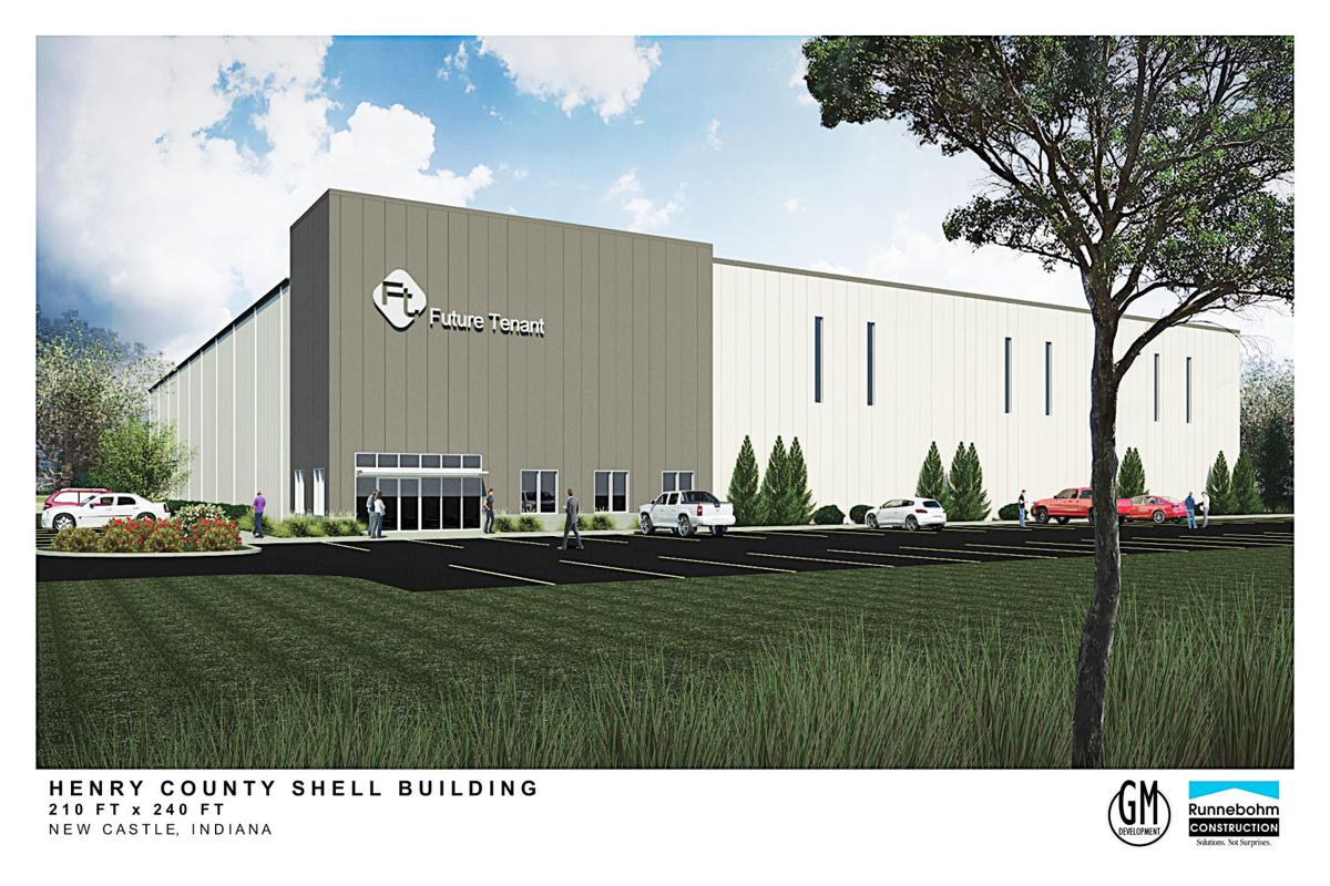 Shell building rendering