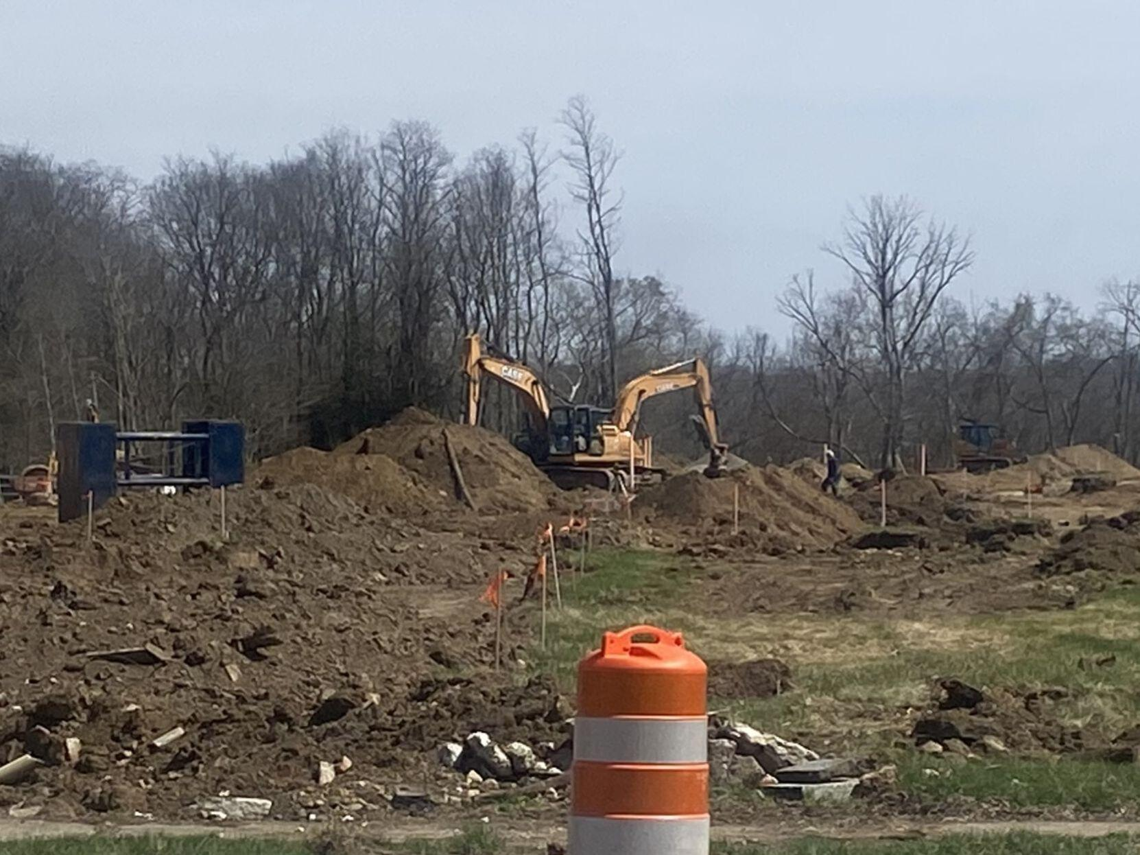 River's Edge Townhomes Construction