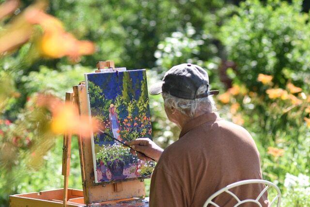 David P. Curtis Painting