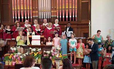 First Parish Church Service