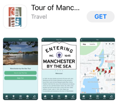 Mobile Tour of Manchester via Mobile App