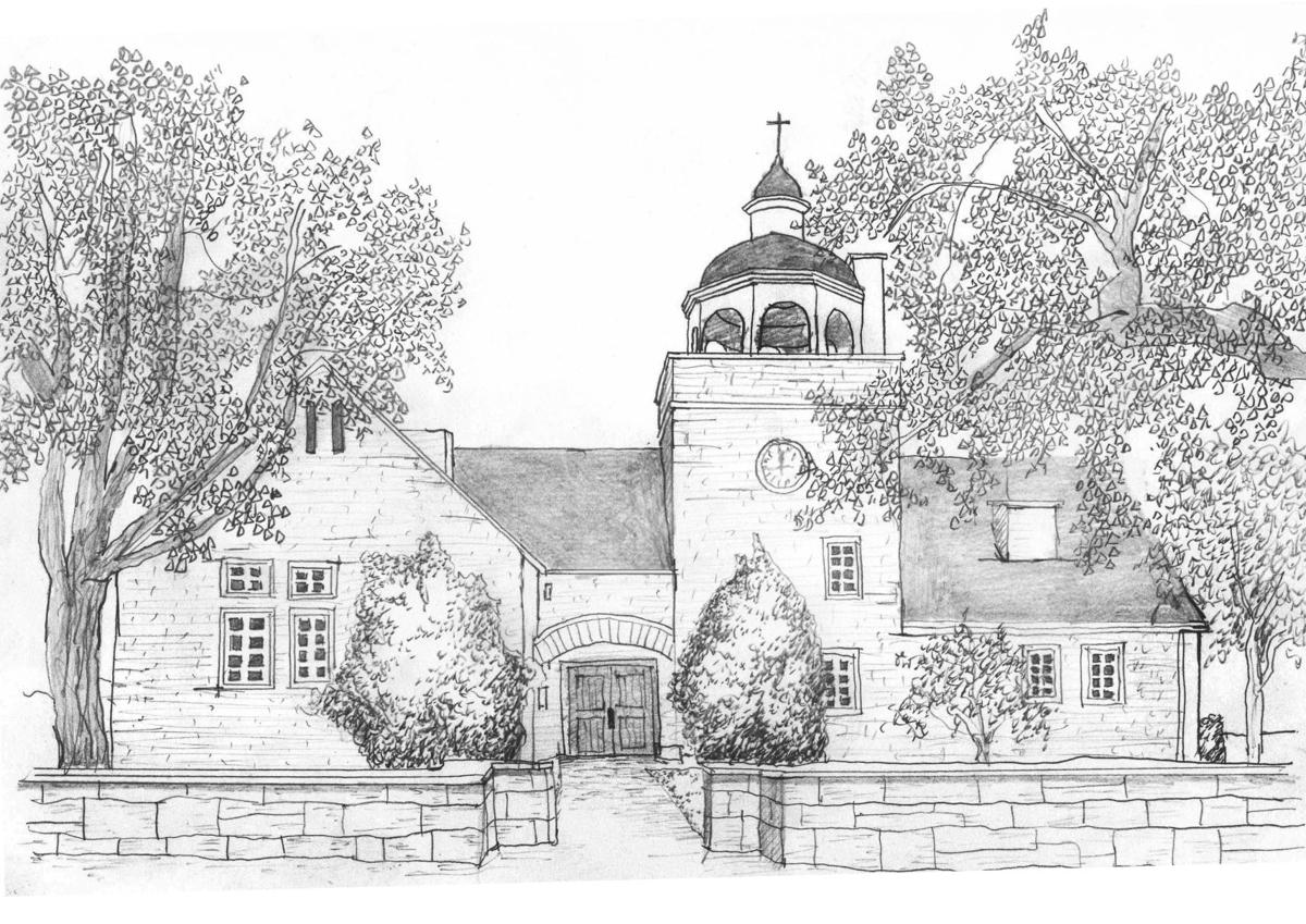 Manchester Public Library Drawing