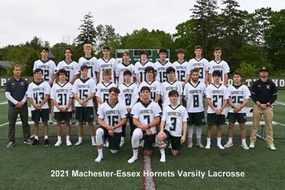 2021 Manchester Essex Boys Lacrosse Team