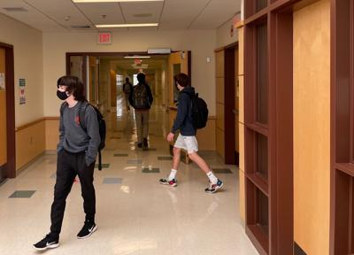 ME High School Students at School in Masks