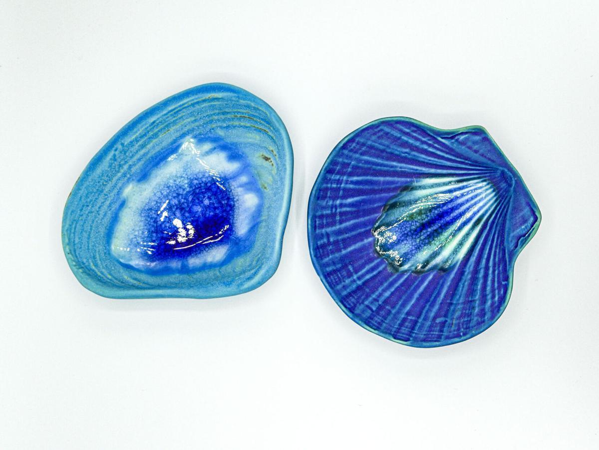 Cynthia Curtis Pottery Shells
