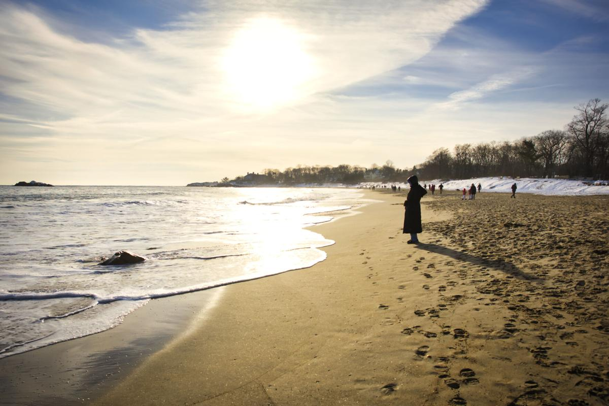 Singing Beach in the Winter of 2020