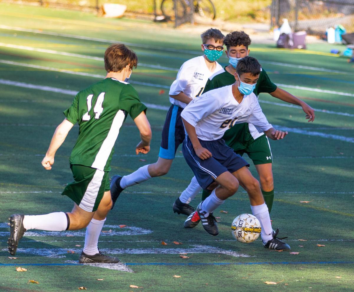 ME Hornets JV Soccer Took on Lynnfield October 15