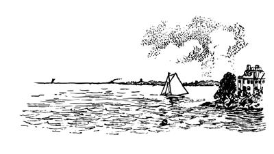 Cricket Masthead Sailboat