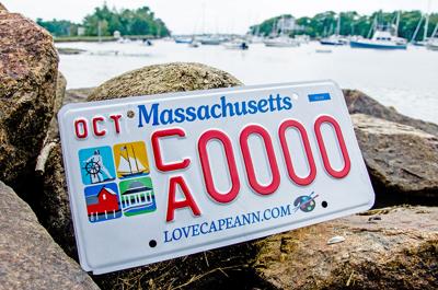 Cape Ann License Plate