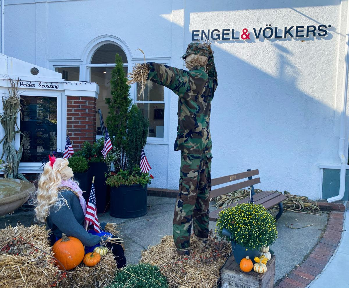 Engel and Volker Host Beverly Farms Scarecrow Contest