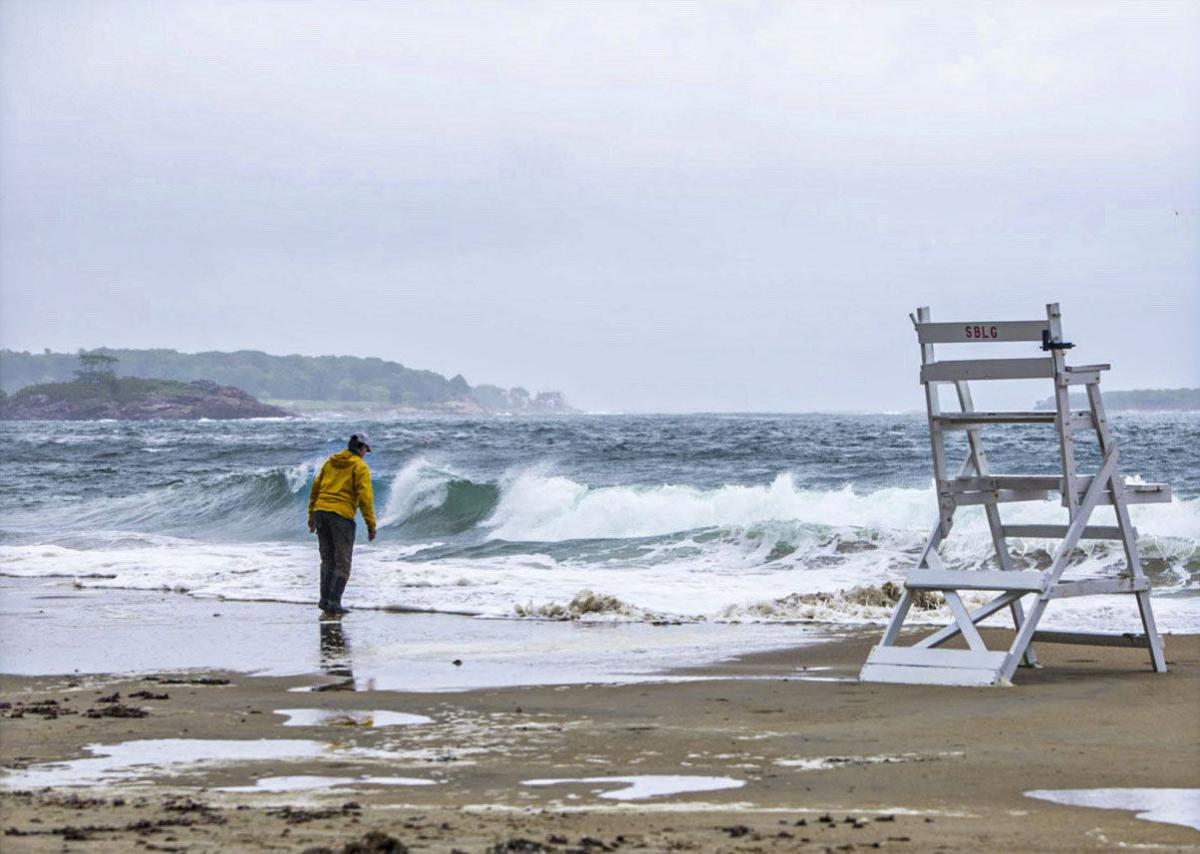 Low Pressure Storm at Singing Beach