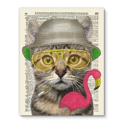 Hunter S Thompson Cat