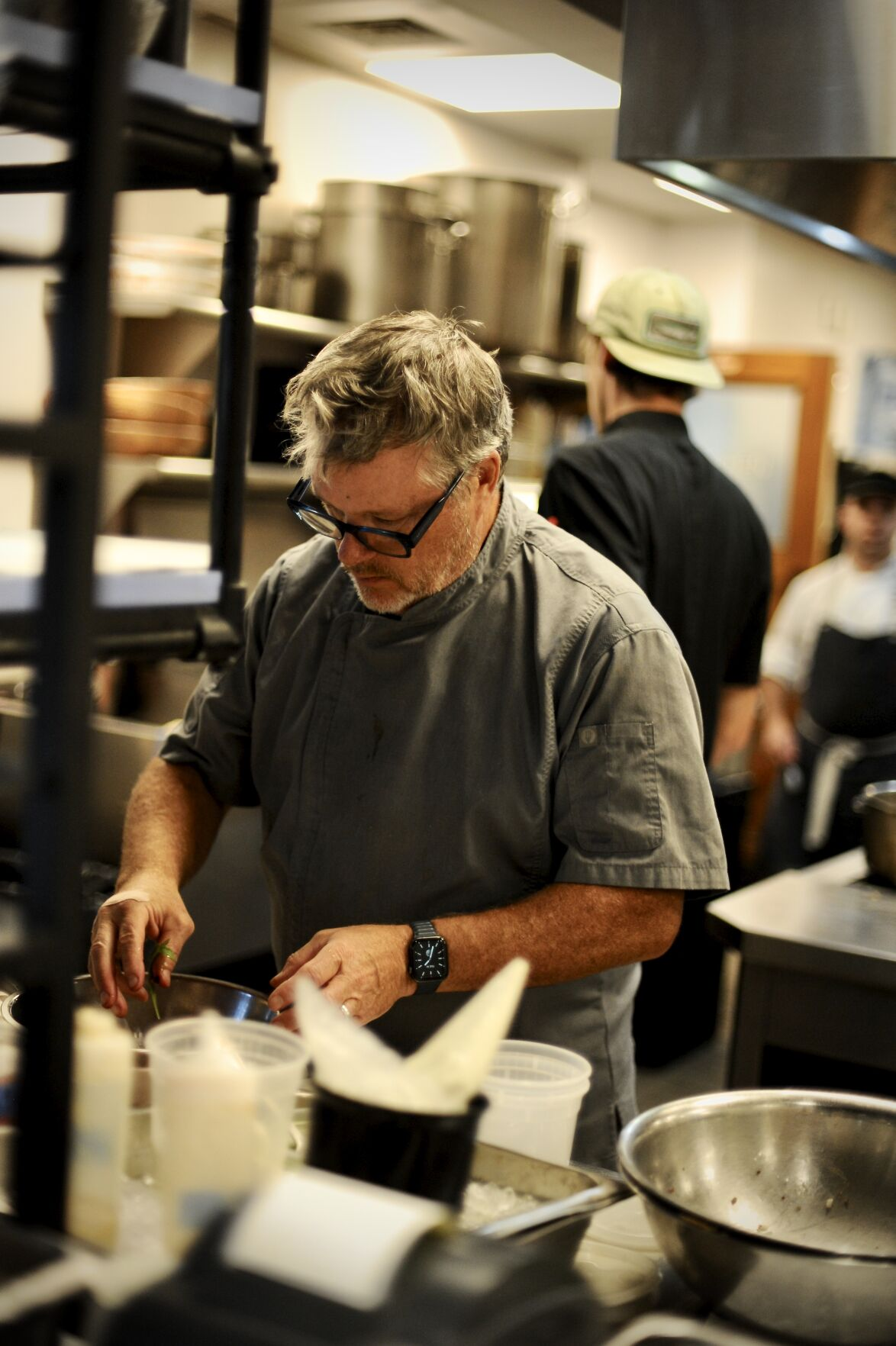 Chef and Owner Frank McClelland