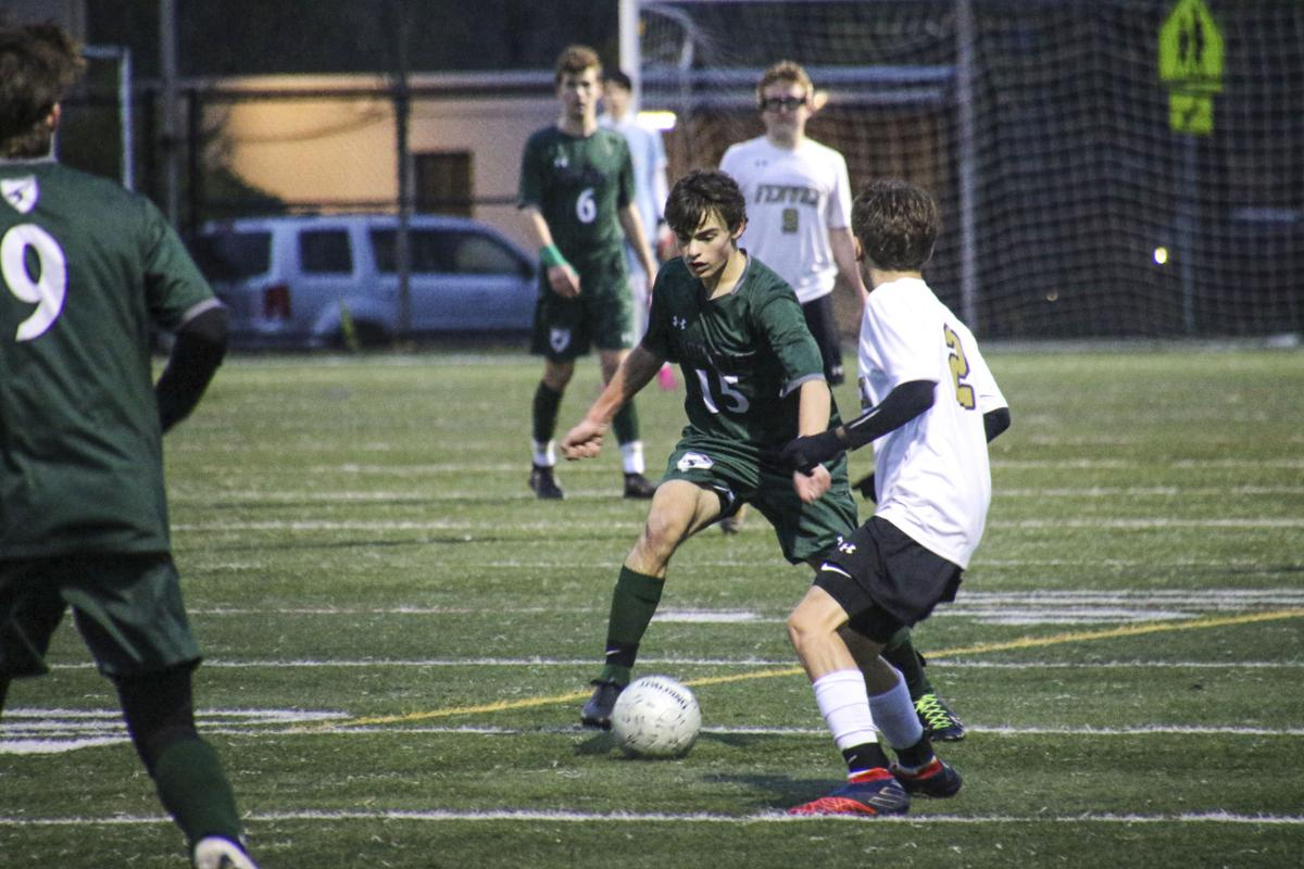 M-E Boys Varsity Soccer Heads To Division Finals - Bowen