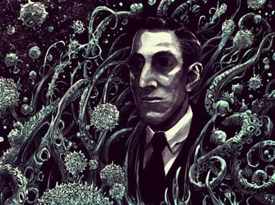 A Portrait of H.P. Lovecraft