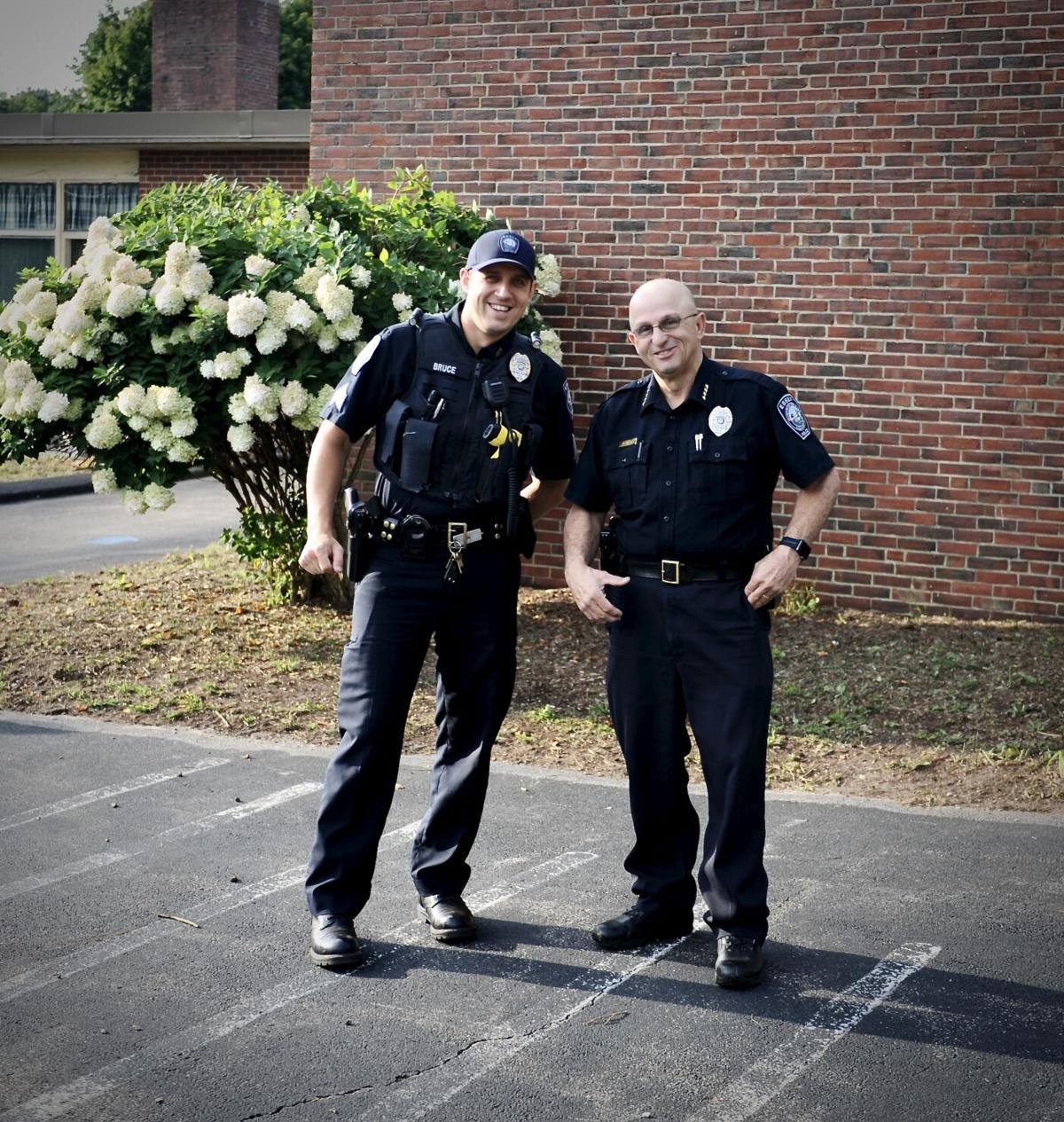MERSD Back To School with Chief Francis
