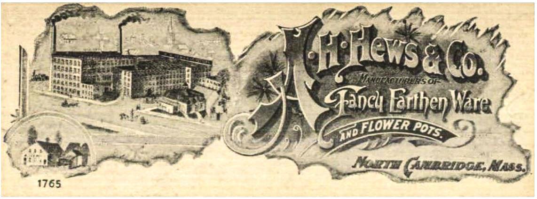 Clay Pots Antique Advertisement