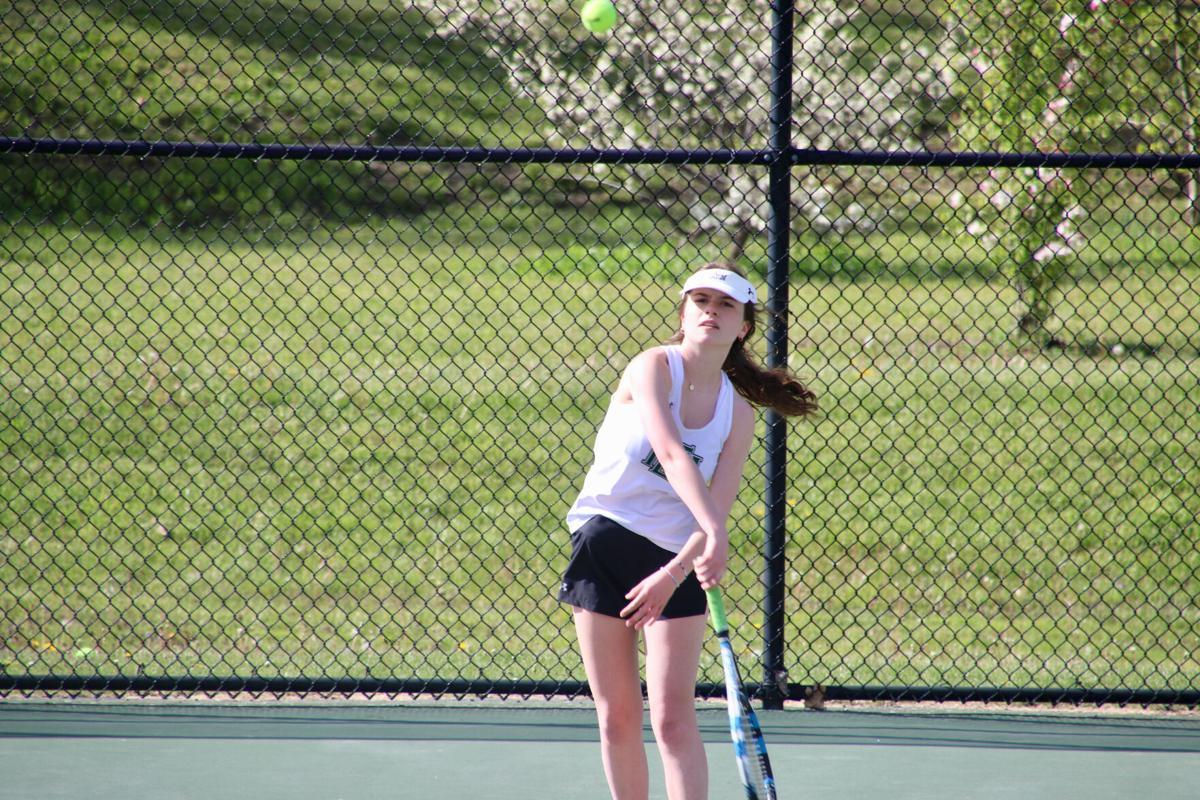Girls Tennis: Jessie Miller