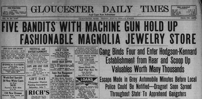 TIMELINE Cape Ann | The Amazing Magnolia Jewelry Heist