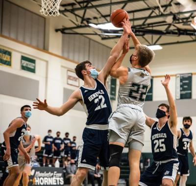ME Hornets Varsity Boys Basketball vs Hamilton