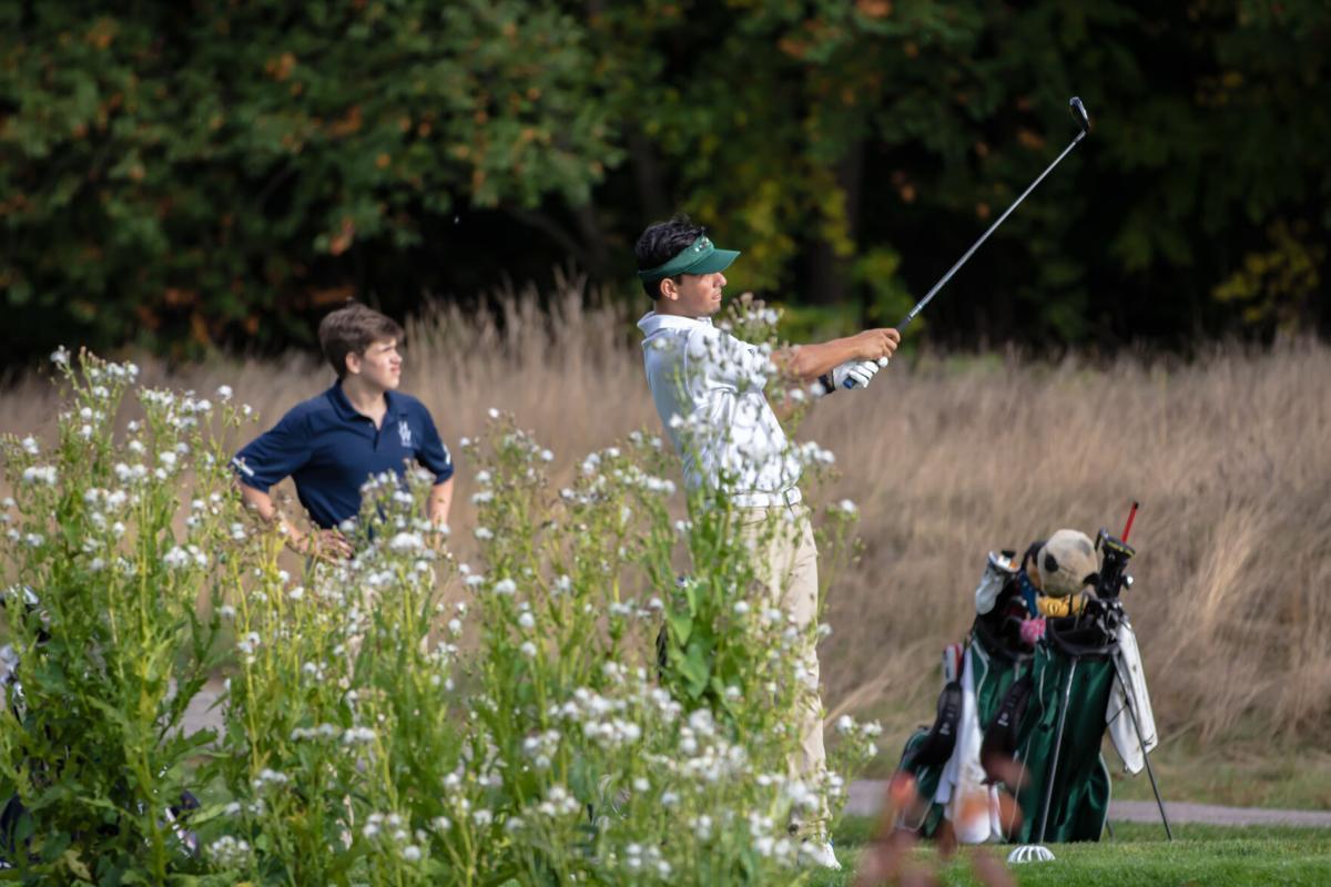 MEHS Golf Against Hamilton-Wenham Sept 29th