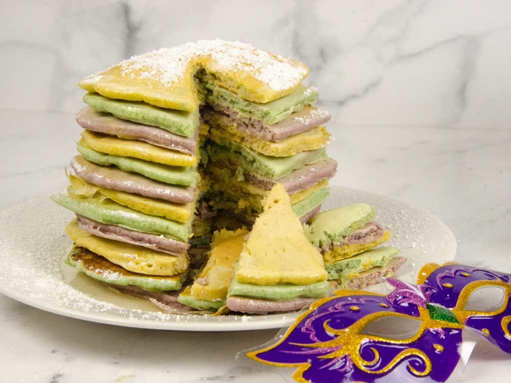 Mardi Gras Pancakes