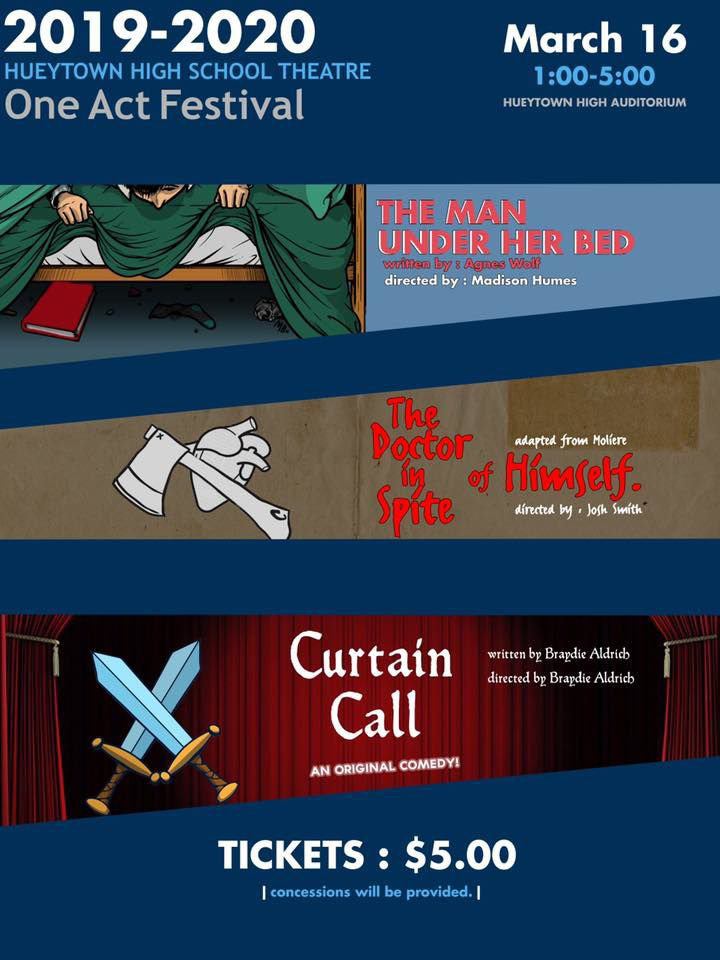 One Act Festival - Hueytown High School Theatre - Saturday