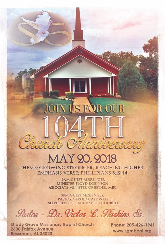 104th church anniversary