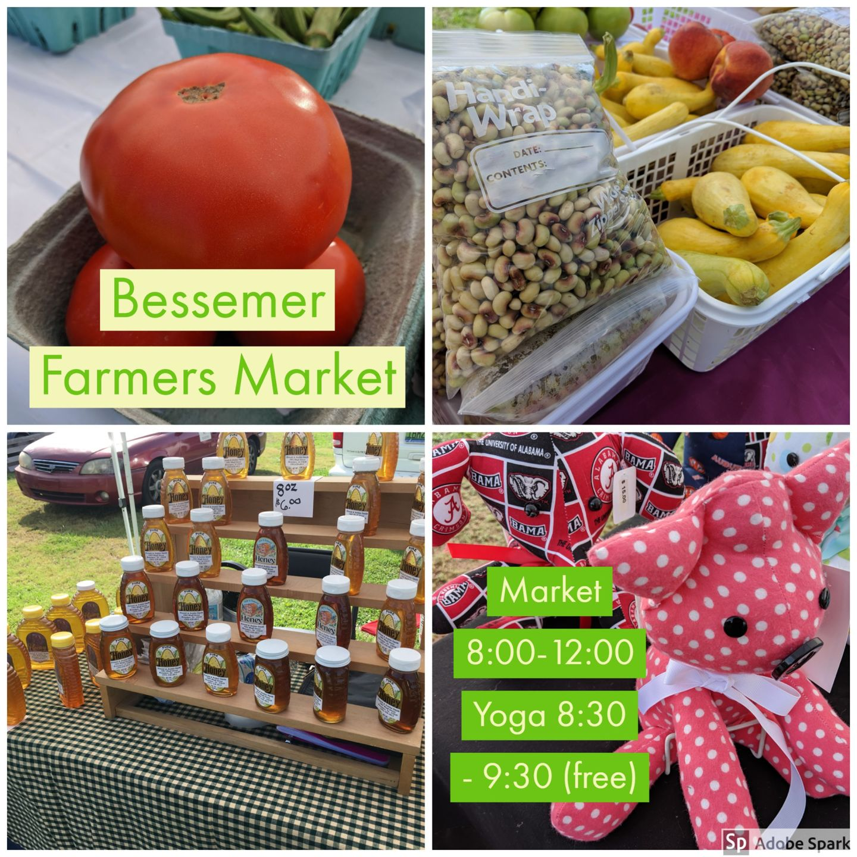 Bessemer Farmers Market Opened Saturday, September 7, 2019